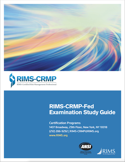 RIMS-CRMP-FED Study Guide Cover